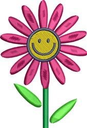 Happy Daisy embroidery design