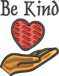 Be Kind To Everyone embroidery design