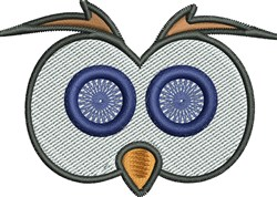 Owl Eyes embroidery design