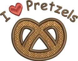 Love Pretzels embroidery design