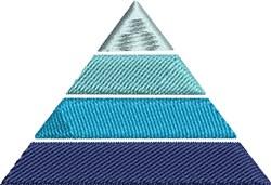 Pyramid embroidery design