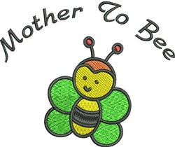 Mother To Bee embroidery design