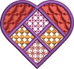 Decorative Heart embroidery design
