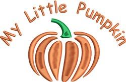My Pumpkin embroidery design