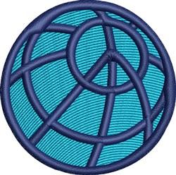 World Peace embroidery design