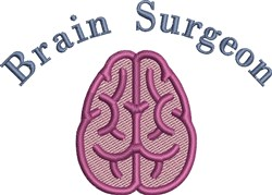 Brain Surgeon embroidery design