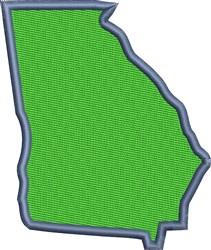 Georgia embroidery design