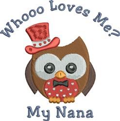 My Nana embroidery design