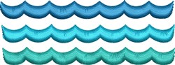 Water Waves embroidery design