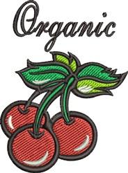 Organic Cherry embroidery design