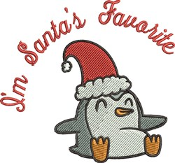 Santas Favorite embroidery design