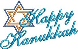 Hanukkah embroidery design