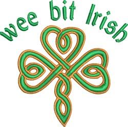 Wee Bit Irish embroidery design