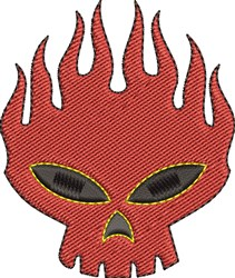 Red Devil embroidery design