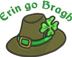 Erin Go Bragh embroidery design