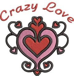Crazy Love embroidery design