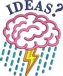 Brain Storm Ideas Design embroidery design