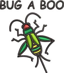 Bug A Boo embroidery design