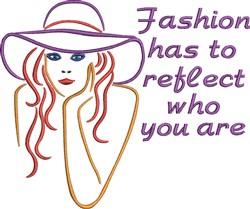 Purple Hat Girl embroidery design