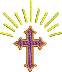 Shining Cross embroidery design