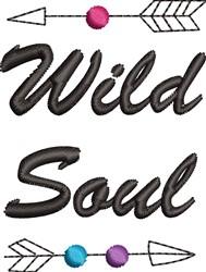 Wild Soul embroidery design