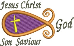Jesus Christ embroidery design