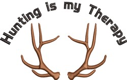 Hunting Therapy embroidery design