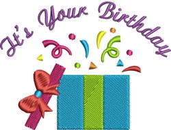 Your Birthday embroidery design