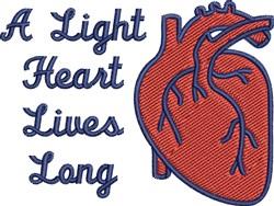 A Light Heart embroidery design