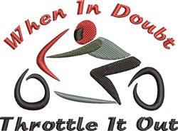 Throttle It Out embroidery design