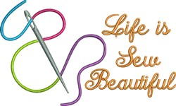 Sew Beautiful embroidery design