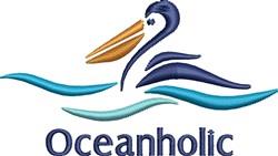 Oceanholic embroidery design