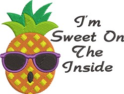 Sweet On Inside embroidery design