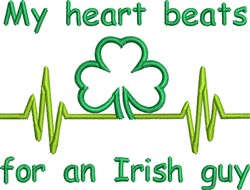 For Irish Guy embroidery design