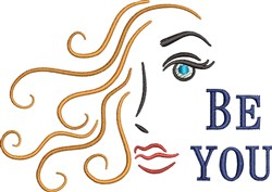 Be You embroidery design