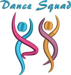 Dance Squad embroidery design