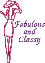 Fabulous And Classy embroidery design