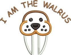 I Am The Walrus embroidery design