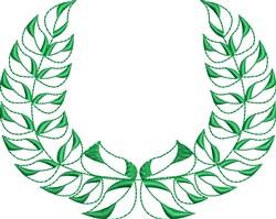 Wreath Decoration embroidery design