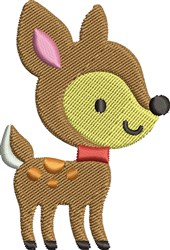 Baby Deer embroidery design