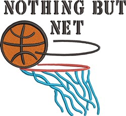 Nothing But Net embroidery design