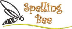 Spelling Bee embroidery design
