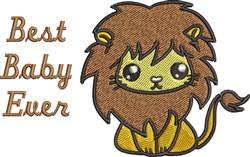 Best Baby Ever embroidery design