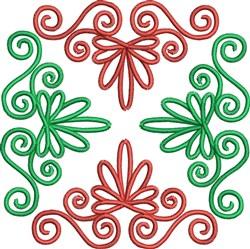 Swirly Decoration embroidery design