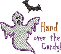 Hand Over Candy embroidery design