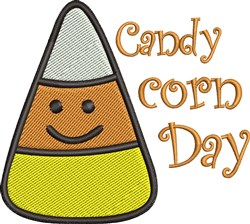 Candy Corn Day embroidery design
