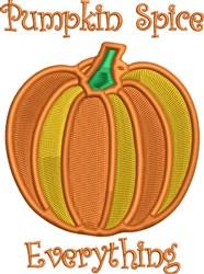 Pumpkin  Spice embroidery design
