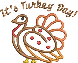 Its Turkey Day embroidery design