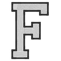 College Block F embroidery design