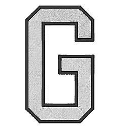 College Block G embroidery design